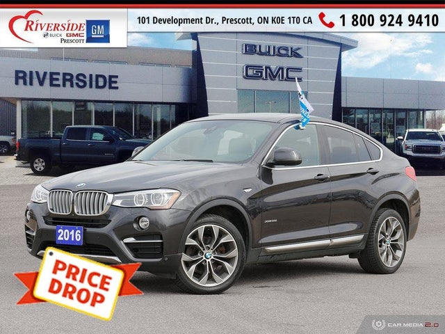 2016 BMW X4 xDrive35i AWD