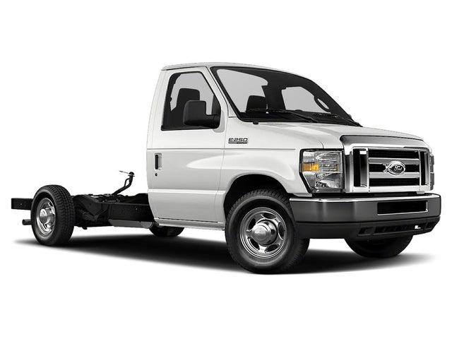 2019 Ford E-Series Chassis E-350 SD DRW Stripped RWD