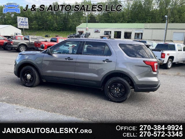 Used 2018 Ford Explorer Police Interceptor Awd For Sale With