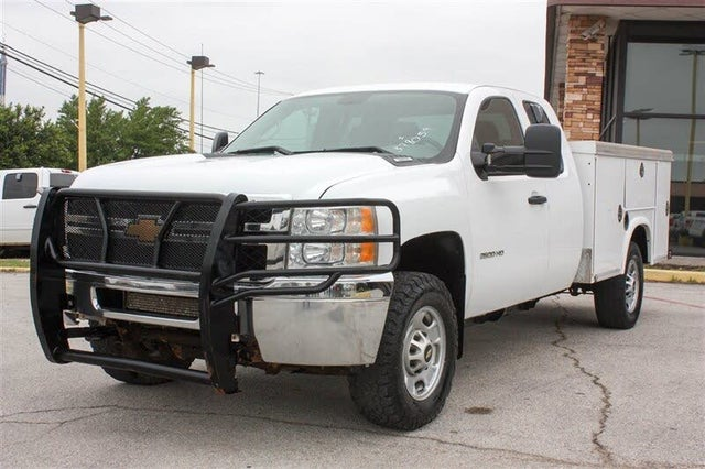 2013 Chevrolet Silverado 2500HD Work Truck Extended Cab LB 4WD