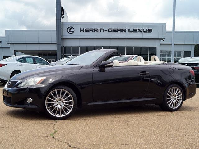 2010 Lexus IS 250C Convertible RWD