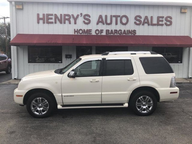 2009 Mercury Mountaineer V8 Premier AWD