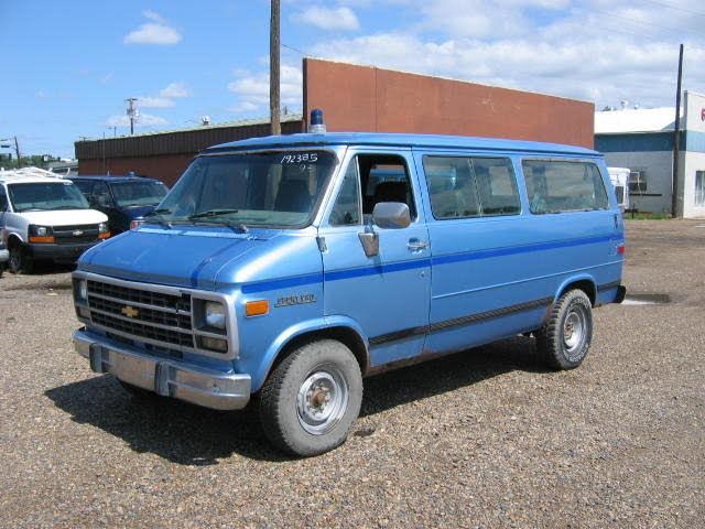 1995 Chevrolet Sportvan 3 Dr G30 Passenger Van
