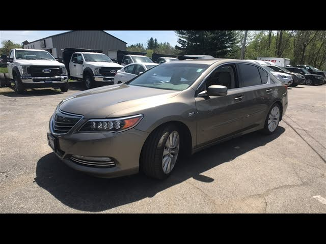 2014 Acura RLX Hybrid Sport SH-AWD with Advance Package