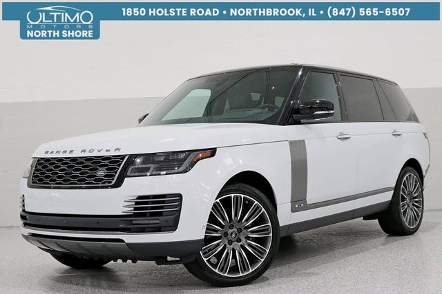 2018 Land Rover Range Rover V8 Autobiography LWB 4WD
