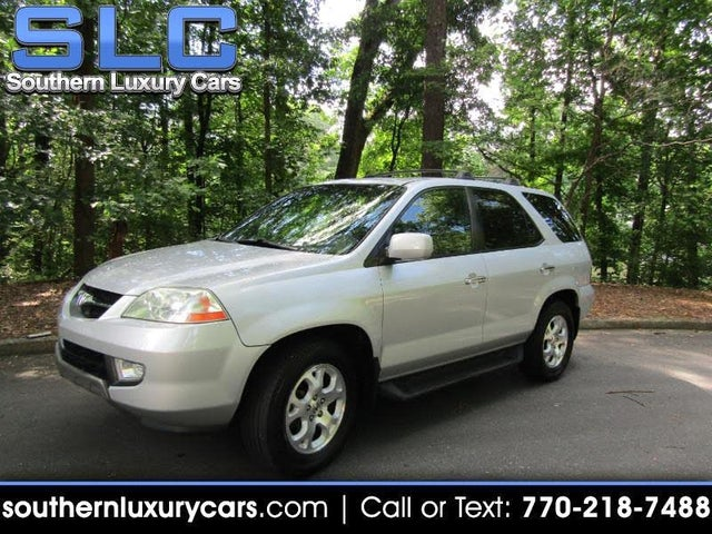 2002 Acura MDX AWD with Touring Package and Navigation