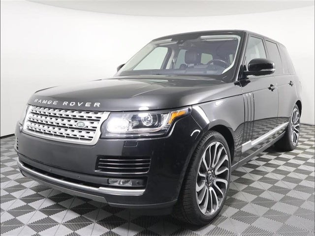 2016 Land Rover Range Rover V8 Supercharged 4WD