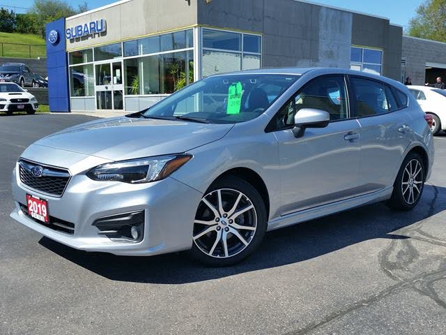 2019 Subaru Impreza 2.0i Sport Hatchback AWD with EyeSight Package