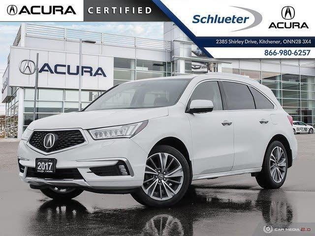 2017 Acura MDX SH-AWD with Elite 6-Passenger Package