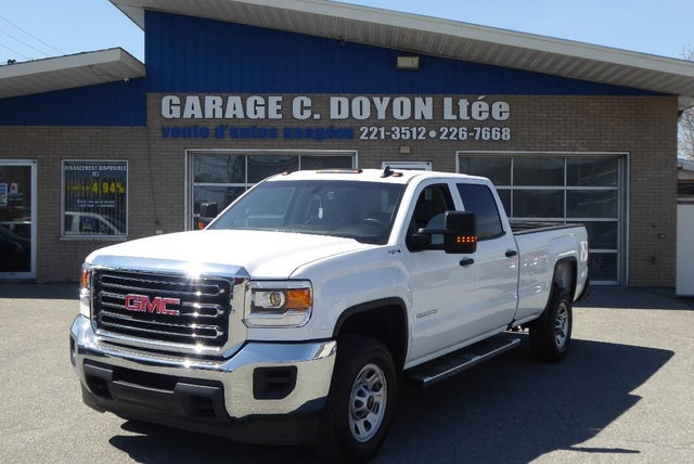 2017 GMC Sierra 2500HD Base Crew Cab SB 4WD