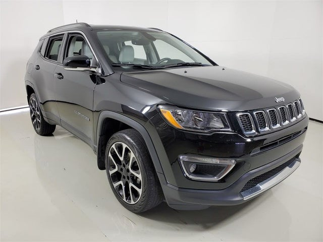 Used 2017 Jeep Compass Limited 4WD for Sale (with Photos ...