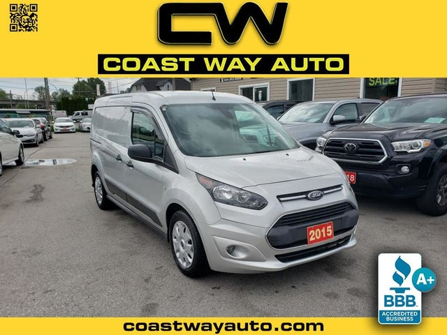 2015 Ford Transit Connect Cargo XLT LWB FWD with Rear Liftgate