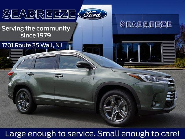 2018 Toyota Highlander Limited Platinum AWD