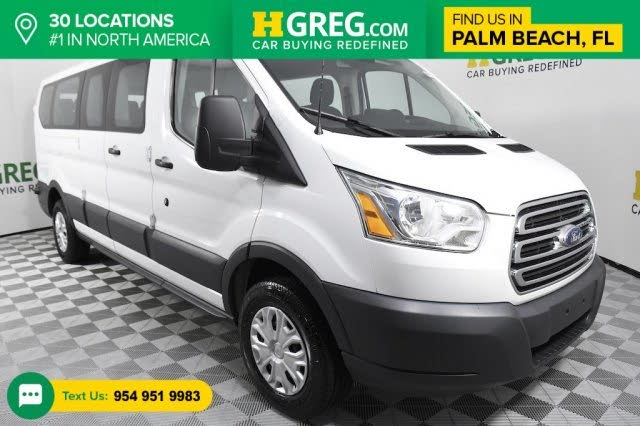 2017 Ford Transit Passenger 350 XLT Low Roof LWB RWD with 60/40 Passenger-Side Doors