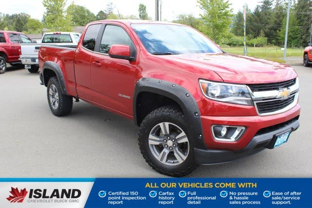 2016 Chevrolet Colorado LT Extended Cab LB 4WD