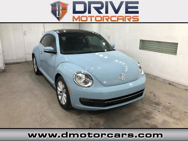 2014 Volkswagen Beetle TDI with Sunroof, Sound, and Navigation