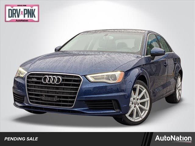 2015 Audi A3 2.0T quattro Premium Plus Sedan AWD