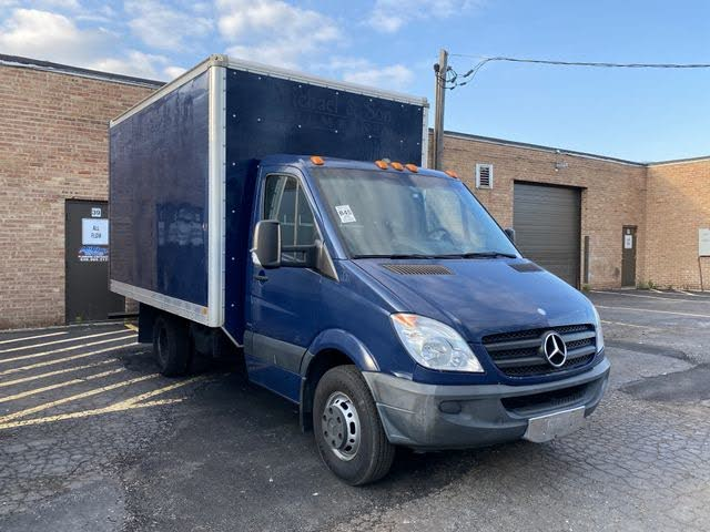 2013 Mercedes-Benz Sprinter 3500 144 WB Regular Cab DRW Chassis
