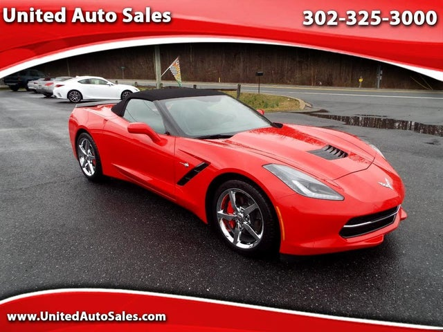 2014 Chevrolet Corvette Stingray 1LT Convertible RWD