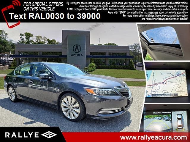 2017 Acura RLX Hybrid Sport SH-AWD with Advance Package