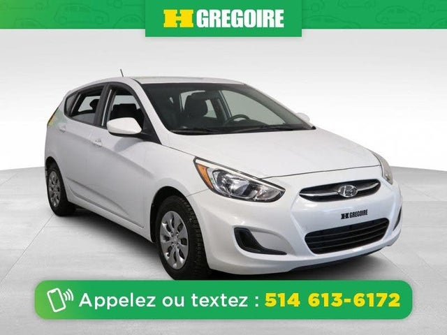 2017 Hyundai Accent SE 4-Door Hatchback FWD