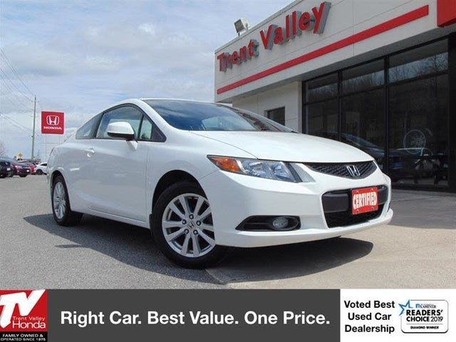 2012 Honda Civic Coupe EX-L with Nav