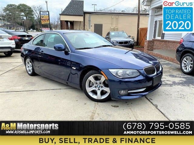 2013 BMW 3 Series 335i Coupe RWD