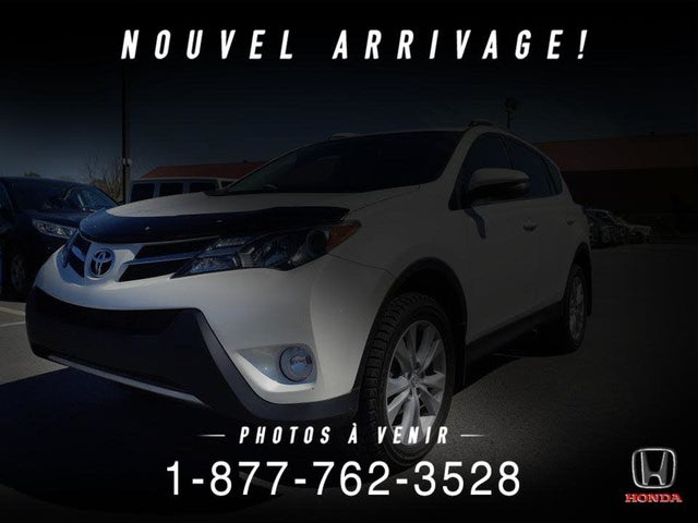 2015 Toyota RAV4 Limited AWD