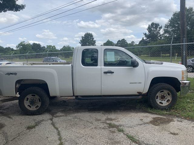 2011 Chevrolet Silverado 2500HD Work Truck Extended Cab 4WD