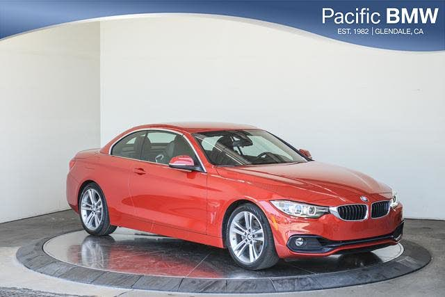2019 BMW 4 Series 430i Convertible RWD