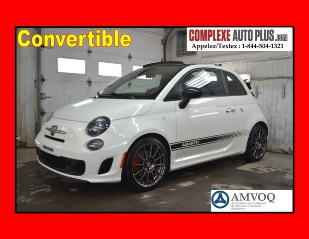2015 FIAT 500 Abarth Convertible