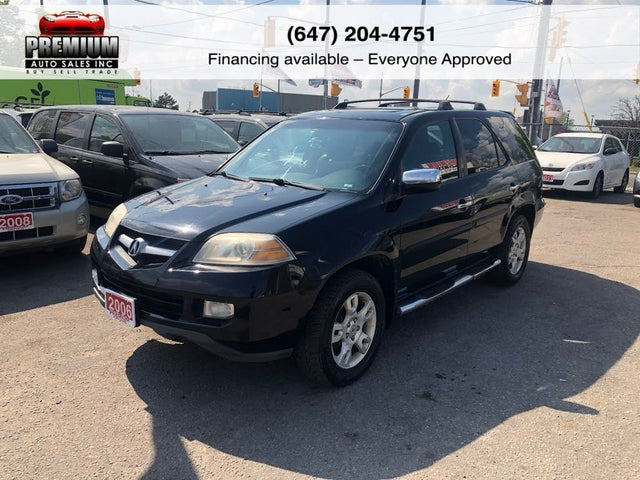 2006 Acura MDX AWD with Touring Package, Navigation, and Entertainment System