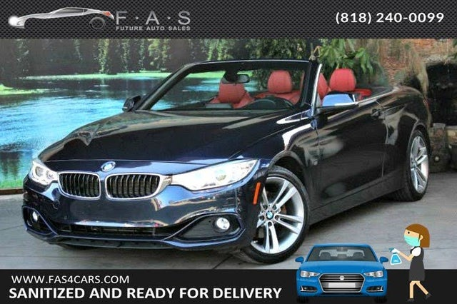 2016 BMW 4 Series 428i Convertible RWD