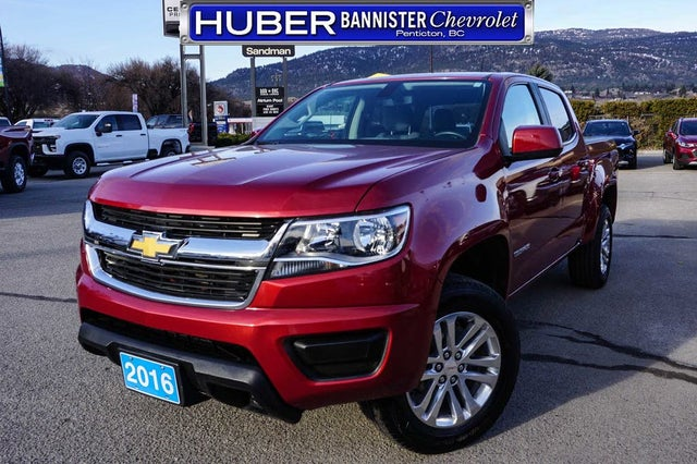 2016 Chevrolet Colorado Work Truck Crew Cab 4WD