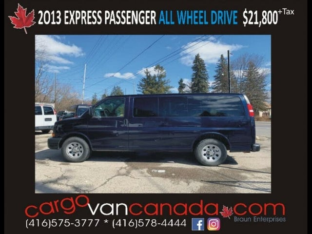 2013 Chevrolet Express 1500 LT AWD