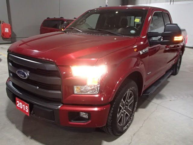 2015 Ford F-150 Lariat SuperCab LB