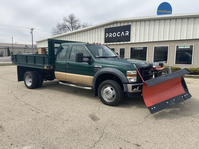 2008 Ford F-450 Super Duty Chassis DRW RWD