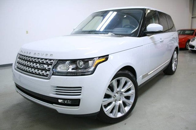 2017 Land Rover Range Rover V8 Supercharged 4WD