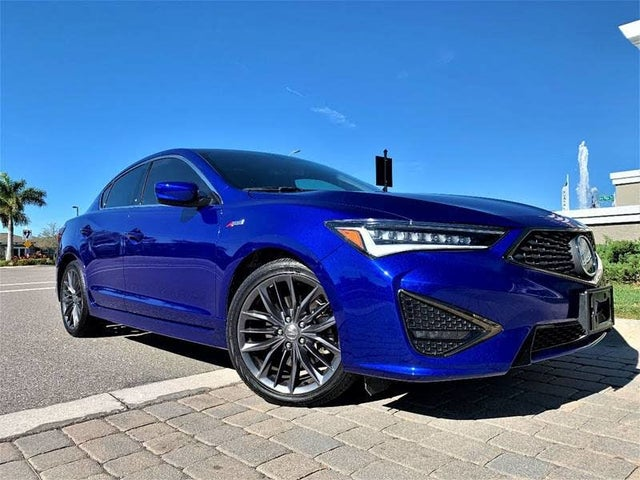 2019 Acura ILX FWD with Technology and A-Spec Package