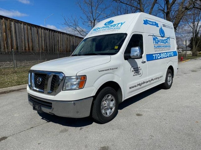 2012 Nissan NV Cargo 2500 HD SV with High Roof and Sliding Door