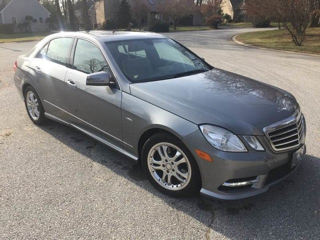 2012 Mercedes-Benz E-Class E 350 BlueTEC Luxury