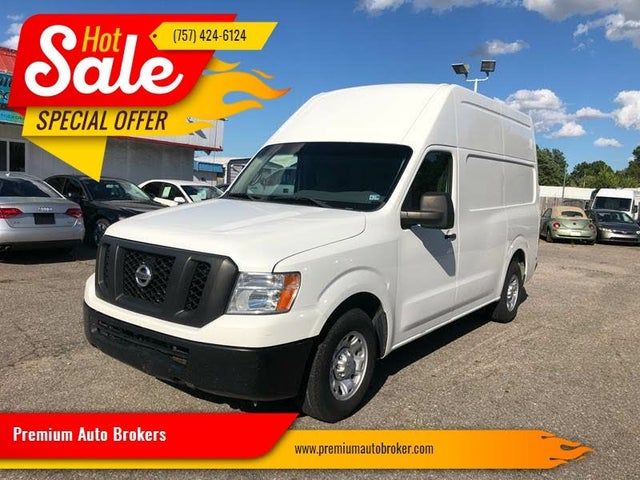 2012 Nissan NV Cargo 3500 HD S with High Roof