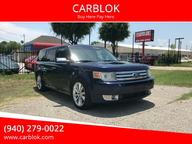 2011 Ford Flex Limited AWD with Ecoboost