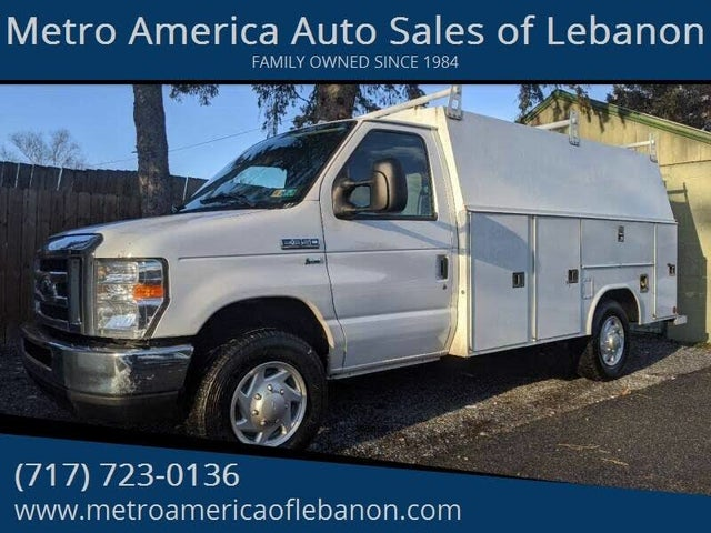 2013 Ford E-Series Chassis E-350 SD RWD
