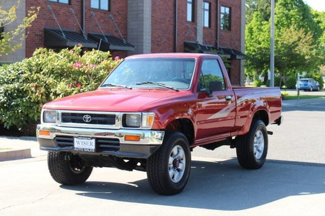 1993 Toyota Pickup 2 Dr Deluxe 4WD Standard Cab SB
