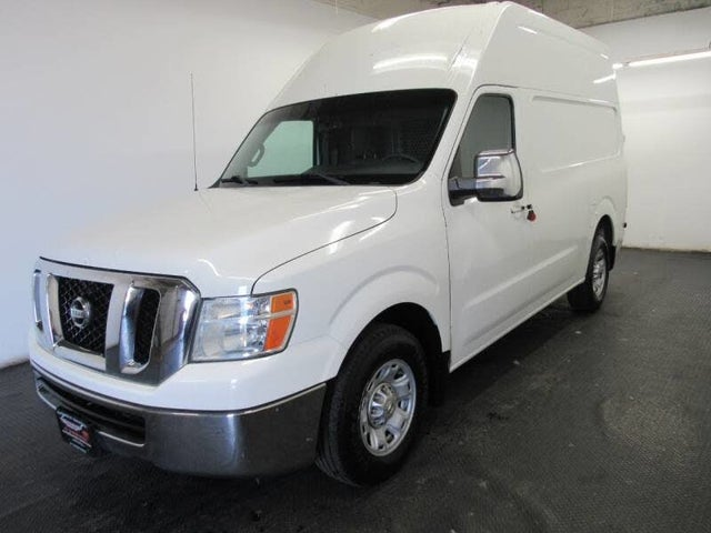 2012 Nissan NV Cargo 2500 HD SV with High Roof and Sliding Door V8
