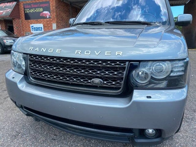 2012 Land Rover Range Rover HSE LUX