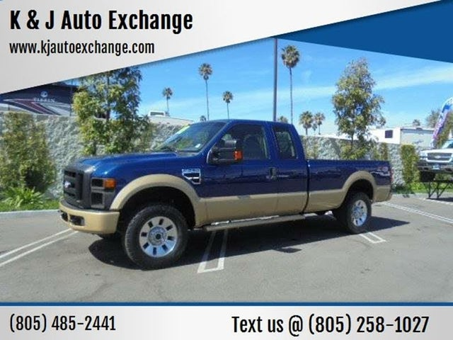 2009 Ford F-250 Super Duty FX4 SuperCab LB 4WD