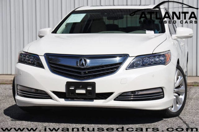 2016 Acura RLX Hybrid Sport SH-AWD with Advance Package