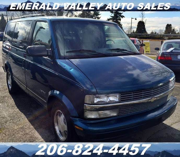Other Car Manuals 95 1995 Chevrolet Astro owners manual Vehicle ...